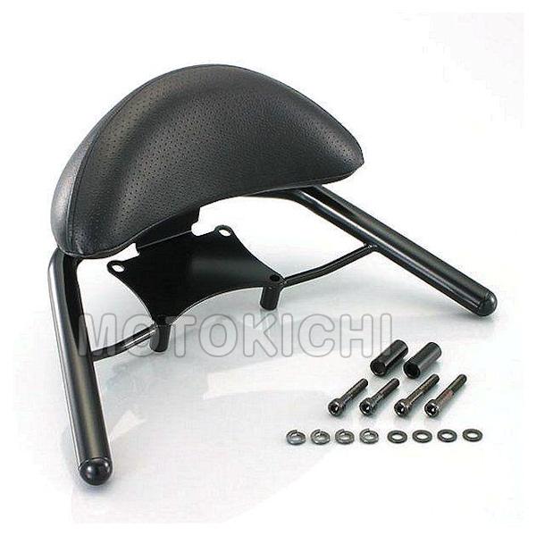 キタコ (KITACO) 652-1426200 タンデムバー バックレスト付 ステンレス(ブラック) ホンダ PCX125