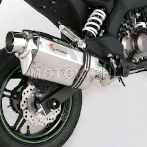 541-4030400 エクストリーム レーシングマフラー Kawasaki Z125Pro キタコ KITACO