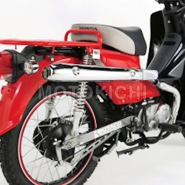 キタコ KITACO 544-1436300 ステンレススポーティーアップマフラー HONDA スーパーカブ110 クロスカブ