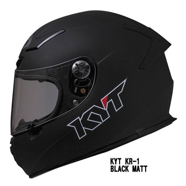 KYT セール商品 KR1 マットブラック KR-1 新着セール フルフェイスヘルメット BLACK MATT