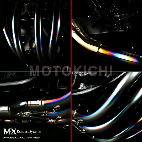 MORIWAKI (モリワキ) 01810-621E6-00 MX REDLINE WT フルエキゾーストマフラー CB1300SF/SB '08~'13