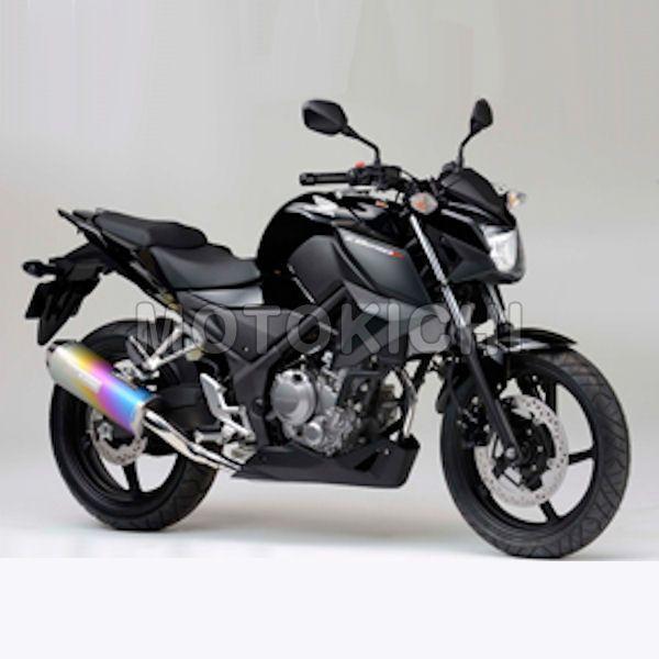 モリワキ MORIWAKI 01810-631L9-00 フルエキゾーストマフラー MX ANO HONDA CB250F/CBR250R 14年~