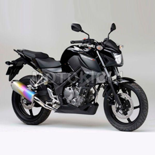 モリワキ MORIWAKI 01810-6K1L9-00 スリップオンマフラー MX ANO S/O HONDA CBR250R/CB250F 14年~