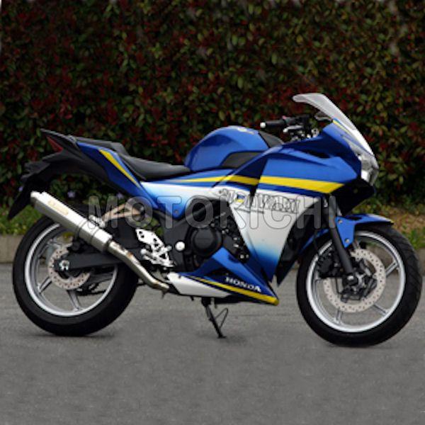 モリワキ MORIWAKI 01810-JL1G8-00 スリップオンマフラー ZERO RACING S/O HONDA CBR250R 11~13年