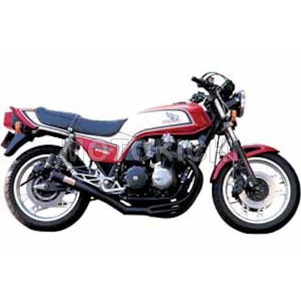 モリワキ MORIWAKI A100-109-2411 ワンピースマフラー ブラック HONDA CB750F