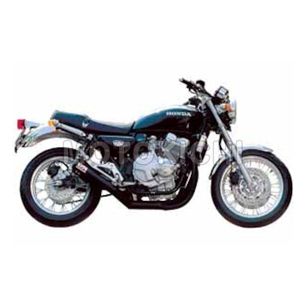 モリワキ MORIWAKI A100-157-2411 ワンピースマフラー ブラック HONDA CB400FOUR 97年~