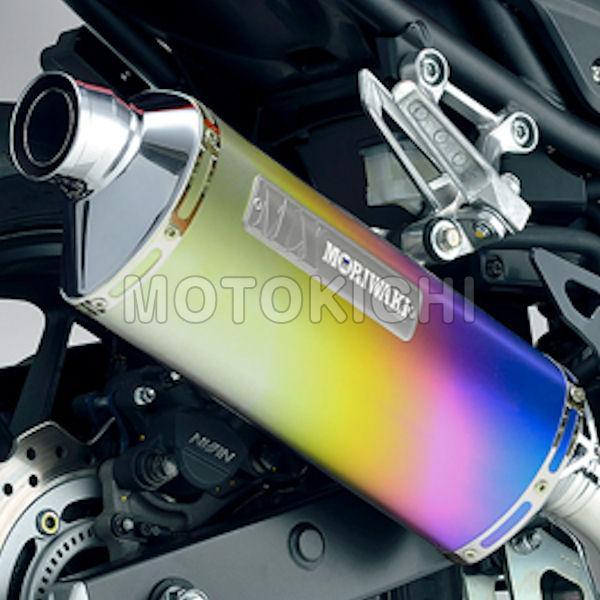 モリワキ MORIWAKI 01810-651N2-00 スリップオンマフラー MX SLIP-ON ANO HONDA CBR400R