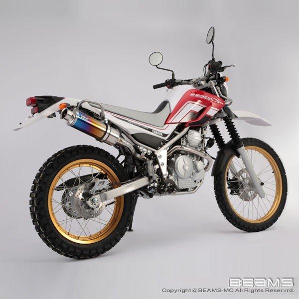 BEAMS SS300 チタンアップタイプ フルエキ SEROW250 Fi 2008~ (JBK-DG17J) セロー