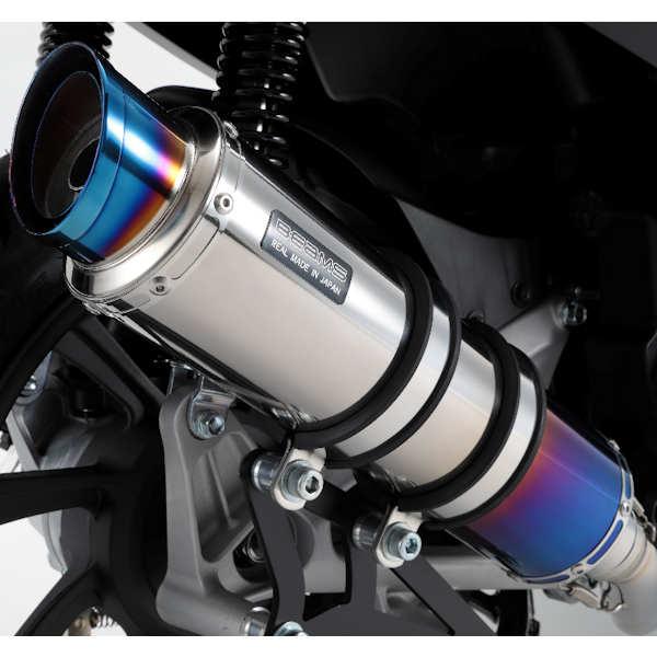 BEAMS G180-54-007 R-EVO2 ヒートチタンサイレンサー PCX150 2018年~ 2BK‐KF30