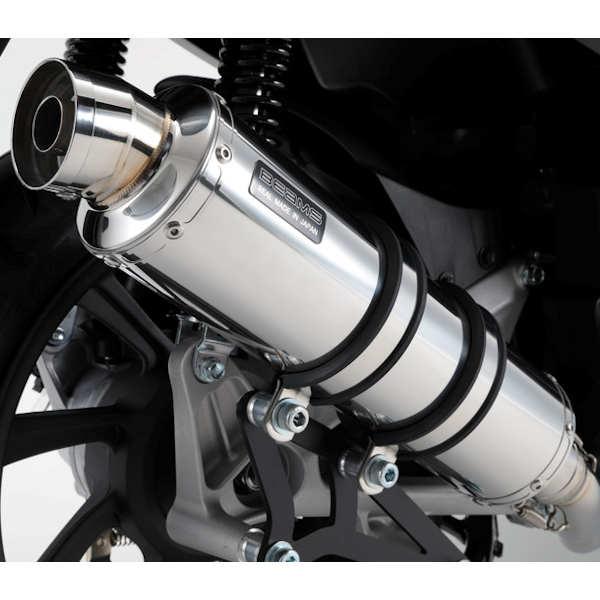 BEAMS G183-53-008 R-EVO ステンレスレスサイレンサー PCX HYBRID 2AJ-JF84
