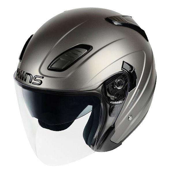 WINS Shade エアロツーリングジェットヘルメット マットガンメタル