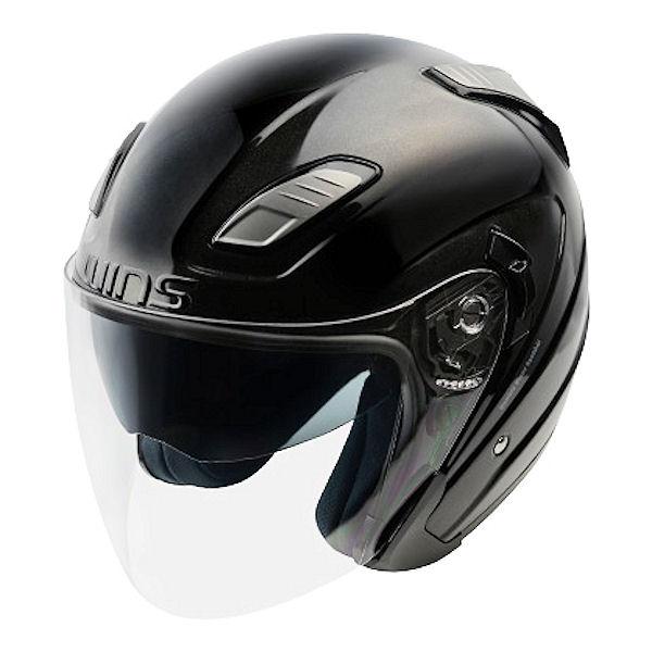 WINS Shade エアロツーリングジェットヘルメット メタルブラック