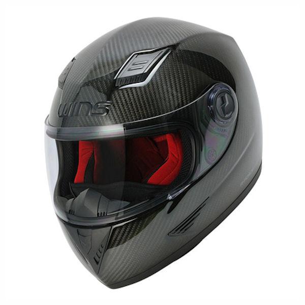 【3月下旬入荷予定】WINS A-FORCE カーボンヘルメット レッドインナー