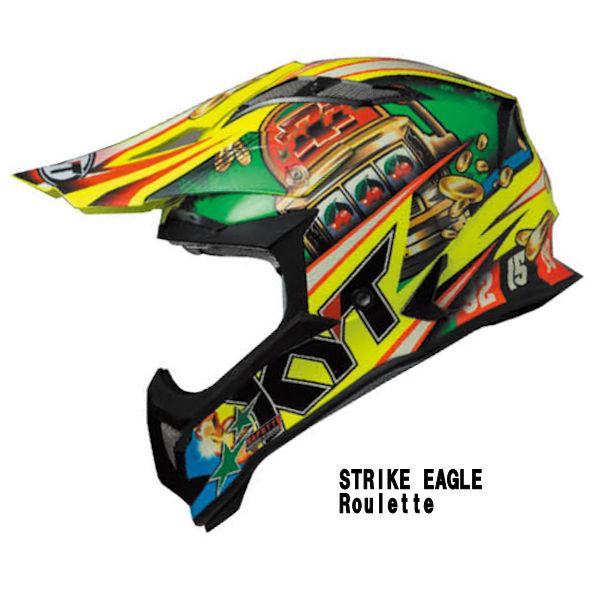 KYT STRIKE EAGLE Roulette モトクロスヘルメット ルーレット