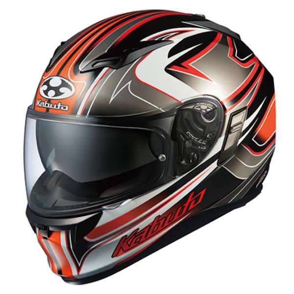 OGKカブト KAMUI2 SIPRO ブラックオレンジ フルフェイスヘルメット カムイ2 シプロ