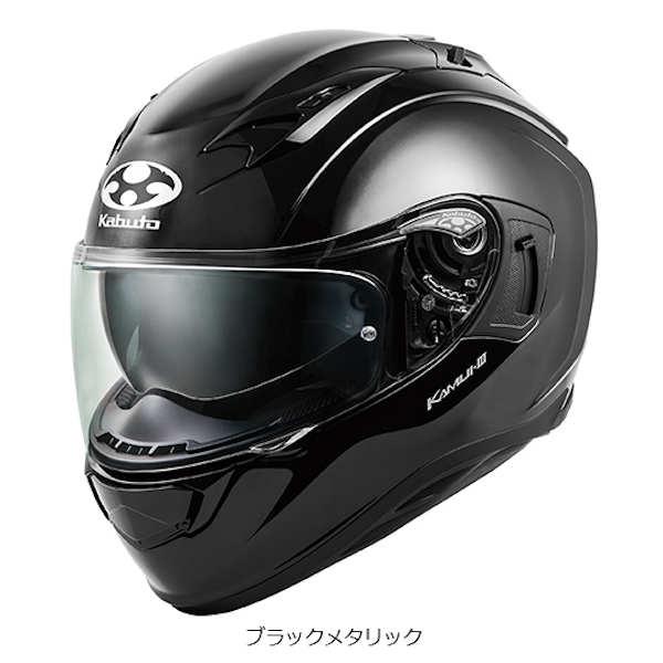 【在庫あり】OGKカブト カムイ3 KAMUI-3 ブラックメタリック Lサイズ