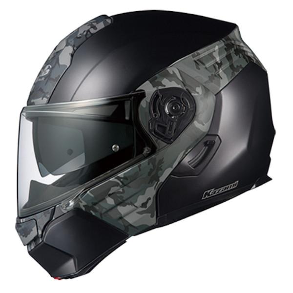 OGK KAZAMI CAMO XLサイズ システムヘルメット カザミ カモ
