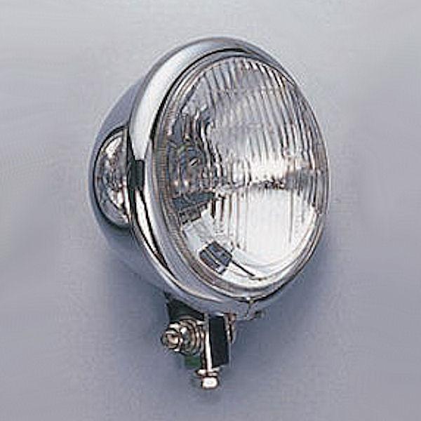 ポッシュ ヘッドライト 4.5インチ ベーツタイプ 汎用 000120 000120-06 000120-16