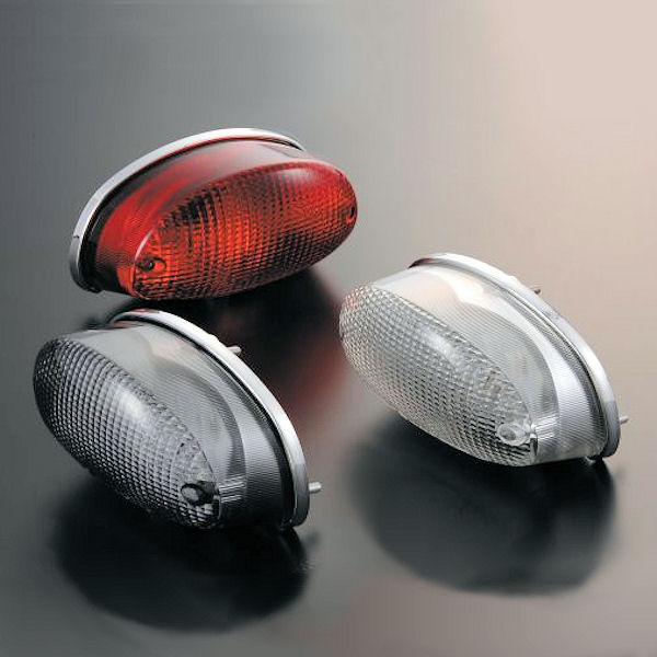 032090-96 Posh ポッシュ LEDテールランプユニット ダークレッド KAWASAKI ZEPHYR1100/RS