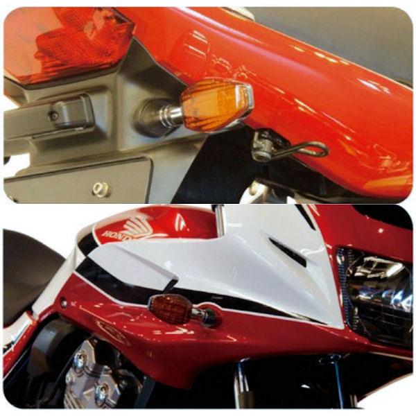 ポッシュ 車種専用 LEDウインカーセット +リレー付き ホンダ CB1300 CB400 056651 056652 056651-06 056652-06