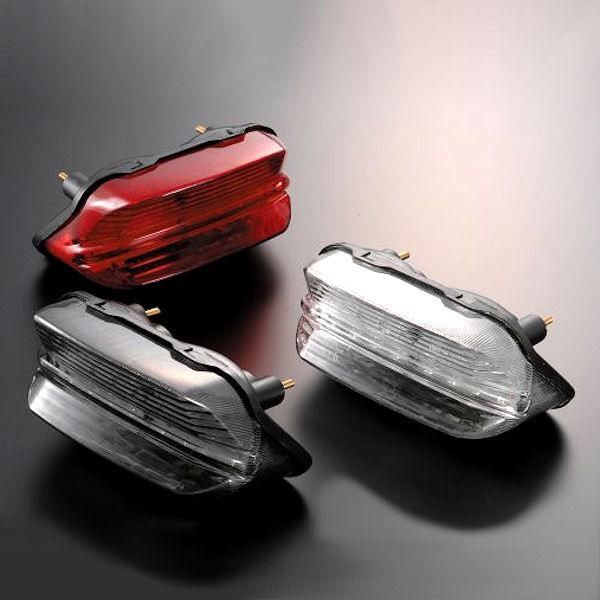 Posh ポッシュ LEDテールランプユニット レッドレンズ ヤマハ XJR400 XJR1300 062190-90 062190-91 062190-92