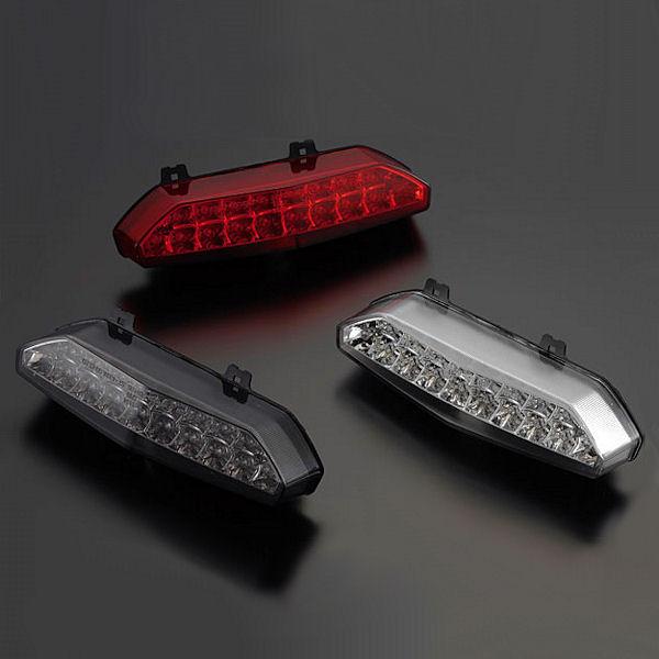 ポッシュ LEDテールランプユニット レッドレンズ カワサキ ZRX1200 DAEG 072090-90 072090-91 072090-92