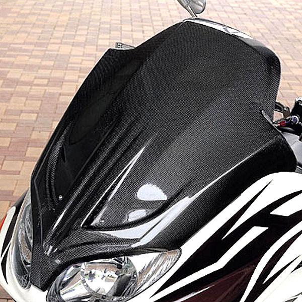 POSH ポッシュ 025300-CB T-MAX フェイスマスク 3D-TECH カーボン ヤマハ TMAX