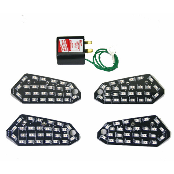 郵送可 配送方法変更要 495970 POSH ポッシュ 販売 LEDコンバージョンキット Z250 Z250SL 1台分セット 激安卸販売新品 Ninja250SL KAWASAKI ウインカー