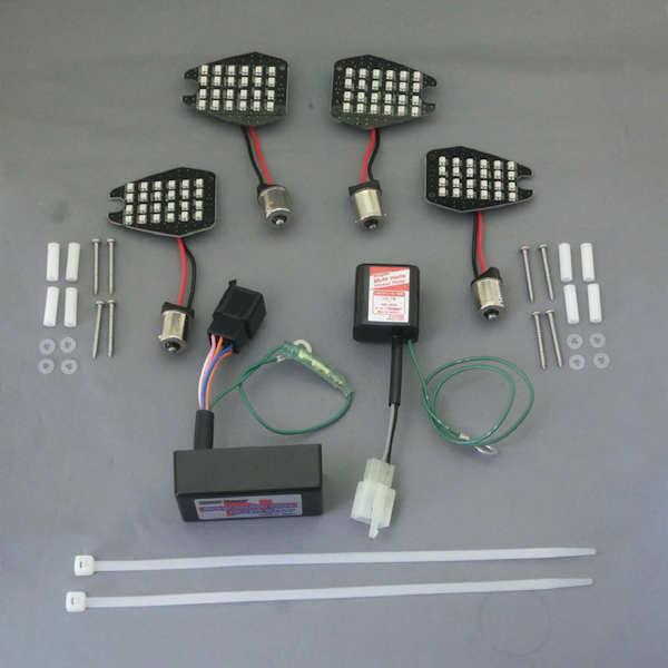 CF-Posh 660980 LEDウインカー カスタマイジングキット シーケンシャルタイプ ホンダ CB1300SF/SB(06-13年) CB400SF/SB(06-07年)