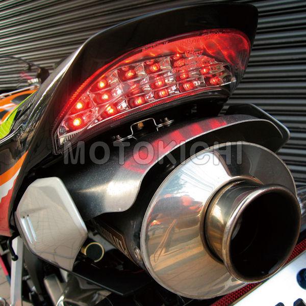 POSH ポッシュ 158090-90 LEDテールランプユニット レッドレンズ カスタムタイプ HONDA CBR1000RR CBR600RR