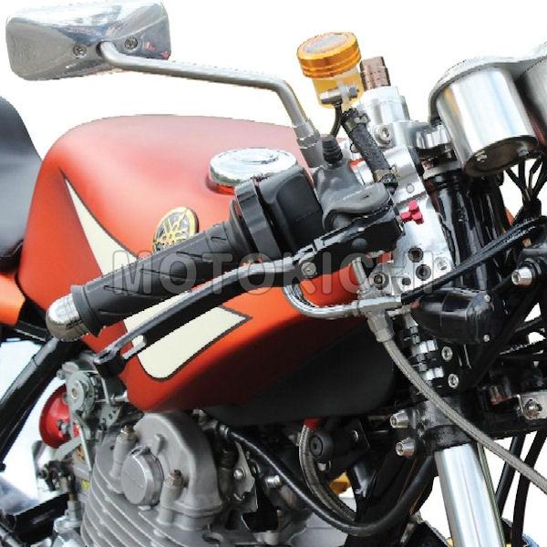POSH ポッシュ セパレートハンドルФ35 275mm シルバー/ブラック YAMAHA SR400 500 010060-03 010060-06