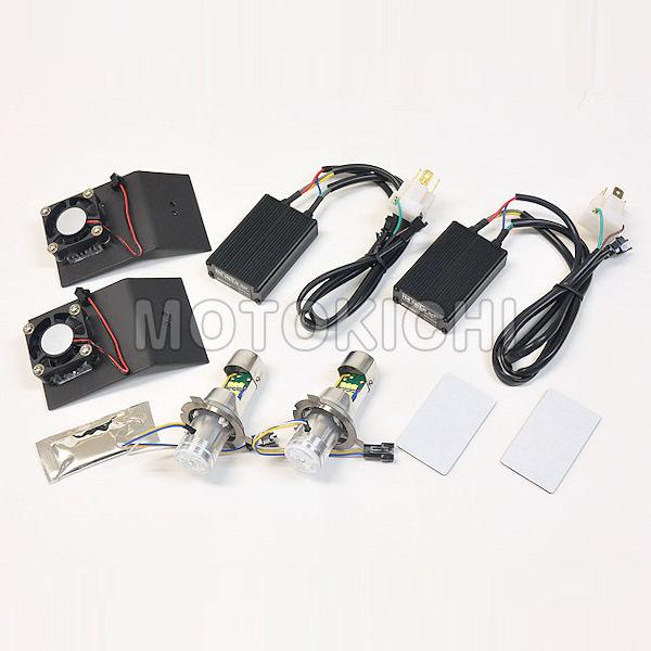 プロテック 65005 LB4-RN LEDヘッドライトバルブキット H4R Hi/Lo NSR250R専用 6000K DC12V 30W HONDA NSR250R
