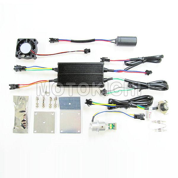 プロテック 65012 LB7-M LEDヘッドライトバルブキット PH7(PH7ソケットタイプ)6000K 12V AC-DC兼用 30W/20W HONDA PCX