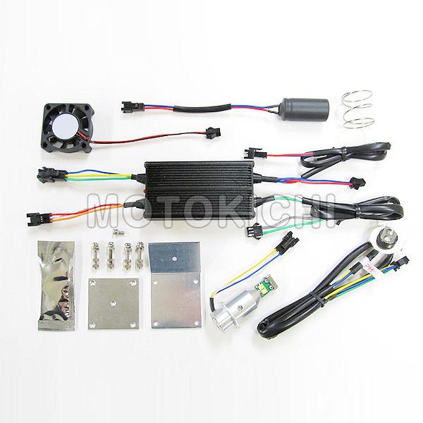 プロテック 65013 LB8-M LEDヘッドライトバルブキット PH8 6000K 12V AC-DC兼用 30W/20W