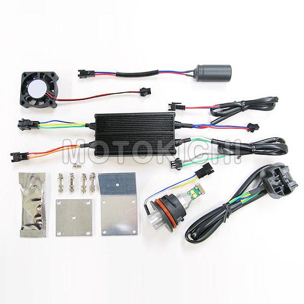 プロテック 65014 LB11-M LEDヘッドライトバルブキット PH11 6000K 12V AC-DC兼用 30W/20W SUZUKI アドレスV125S スペイシー LEAD100 DIO