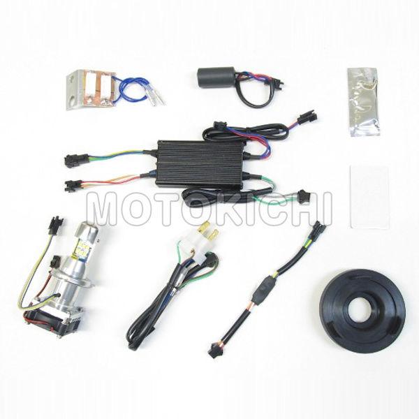 LEDヘッドライトバルブキット PROTEC LB4-SC HS1 Hi/Lo 30W 6000K スーパーカブ110 65024