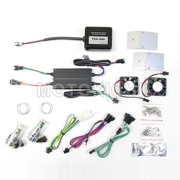 LEDヘッドライトバルブキット PH7 LB7-BW BW'S100専用 65020 6000K