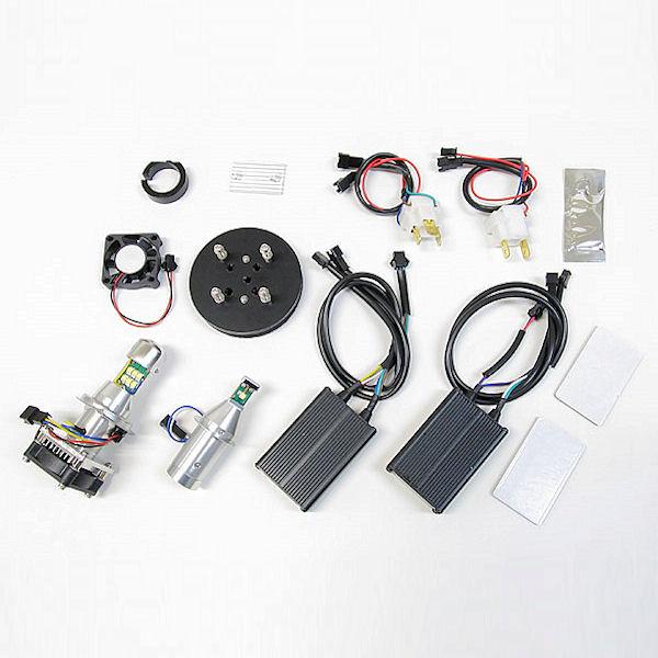 プロテック 65006 LB7-KN LEDヘッドライトバルブキット H7 6000K YAMAHA TMAX