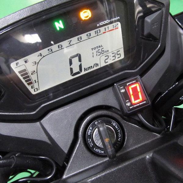 プロテック SPI-H35 シフトポジションインジケーター (No.11367) CB250F /ABS[MC43 '14~]【HONDA】