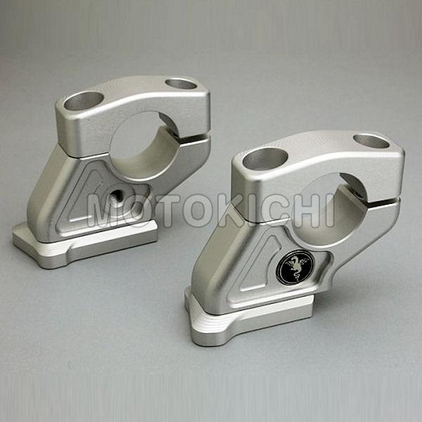 アールズギア BB24-HB00 ハンドルブラケット '15年~ S1000XR 23mmバック 5mmアップ 【BMW】