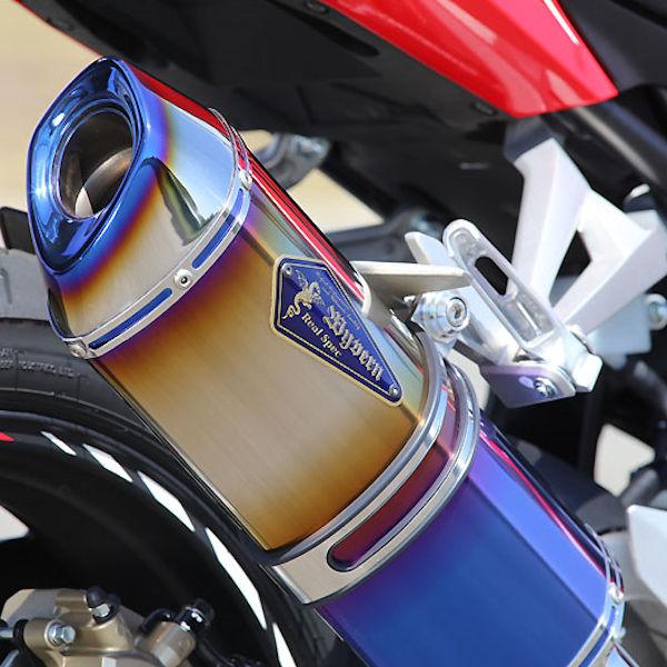 アールズギア RH26-03SD ワイバンリアルスペック タイプS DB スリップオンマフラー ドラッグブルータイプ HONDA CBR250RR