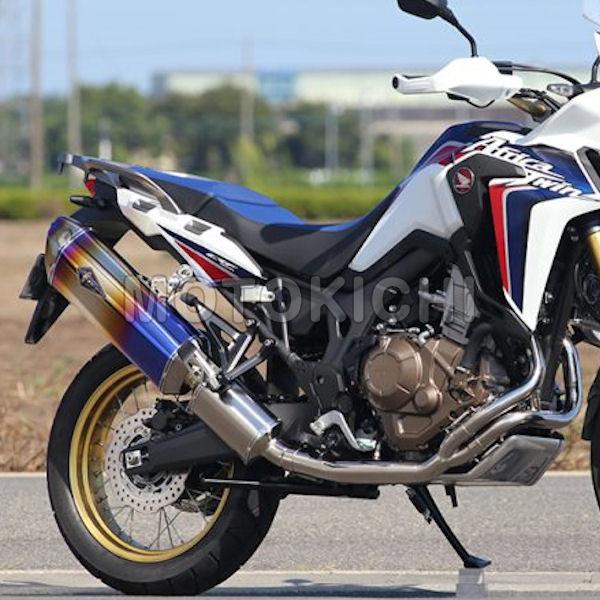 RH23-01RD フルエキ マフラー CRF1000L Africa Twin サイレンサー ドラッグブルー ワイバン リアルスペック アールズギア r's Gear