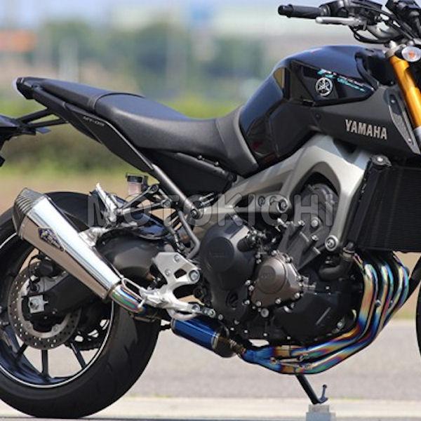 RY16-C1RT フルエキ マフラー MT-09 MT-09TR XSR900 サイレンサー チタン ワイバン リアルスペック アールズギア r's Gear