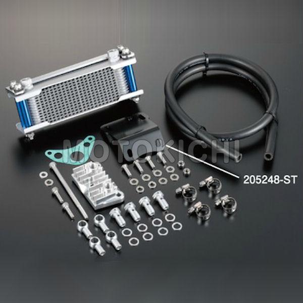 205248-13 シフトアップ SHIFT UP モンキー12段オイルクーラーキット シルバー (ヘッドライトボトムマウントタイプ)