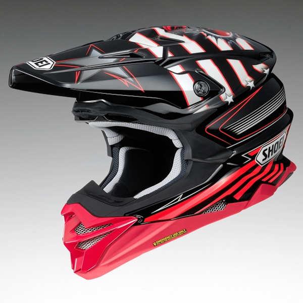 SHOEI VFX-WR GRANT3 TC-1 RED/BLACK グラントスリー オフロードヘルメット ショウエイ