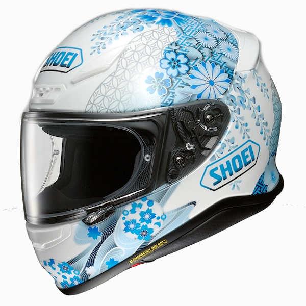 【取引先在庫あり】SHOEI Z-7 HARMONIC TC-2 ブルー/ホワイト フルフェイスヘルメット ハーモニック ショウエイ