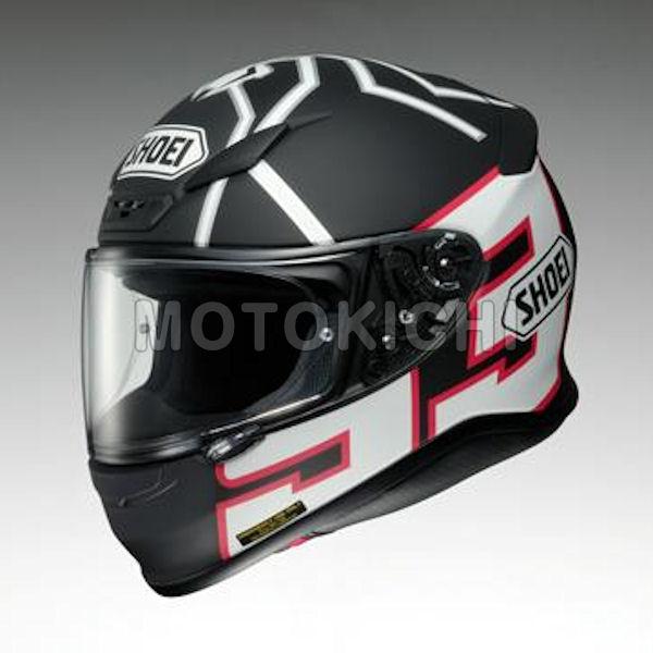 SHOEI Z-7 MARQUEZ BLACK ANT フルフェイスヘルメット ブラック/ホワイト マットカラー ショウエイ