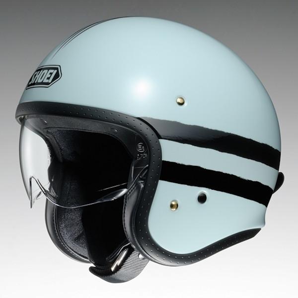 SHOEI J・O JO SEQUEL TC-10 グレー/ブラック ジェット ヘルメット ジェイオー