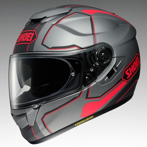 SHOEI GT-Air PENDULUM TC-10 ペンデュラム グレー/レッド フルフェイスヘルメット ショウエイ
