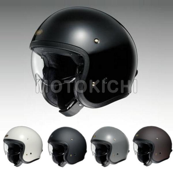 ジェットヘルメット JO SHOEI J.O バイザー内蔵ジェットヘル JO